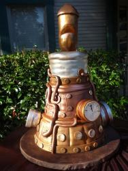 Bronze steam engine cake.JPG