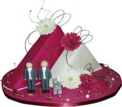 Triangular Civil Partnership Cake.jpg