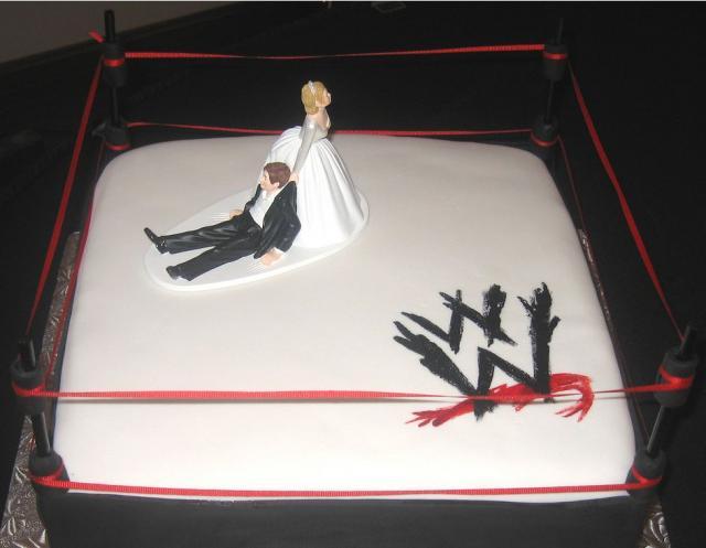 Wwe Wrestling Ring Groom S Cake Jpg 5 Comments Hi Res