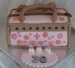 Designer handbag 30th birthday cake.JPG