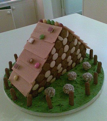 Log Cabin Cake Jpg 1 Comment