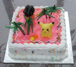 Pokemon birthday sponge cake.JPG