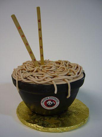 Noodle Bowl Birthday Cake