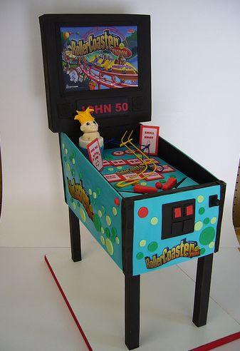 Pinball Machine Cake Jpg
