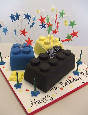 Swell Lego Blocks 7Th Birthday Cake Jpg 1 Comment Personalised Birthday Cards Epsylily Jamesorg