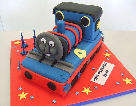 Cartoon Train Cake Jpg