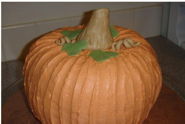 pumpkin shaped wedding cake thanksgiving pumpkin shaped cake jpg 18839