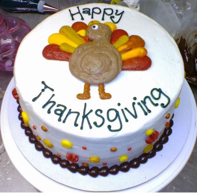 turkey cake round thanksgiving turkey cake how to make a turkey cake ...