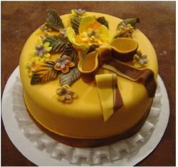 Beautiful Thanksgiving Cake picture with pretty cake decor.JPG