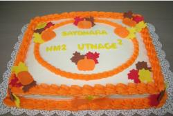 Big square Thanksgiving cake with bright colors in red, orange, yellow and brown.JPG