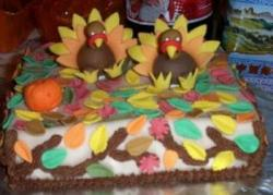 Square Chocolate Thanksgiving turkey cake photos.JPG