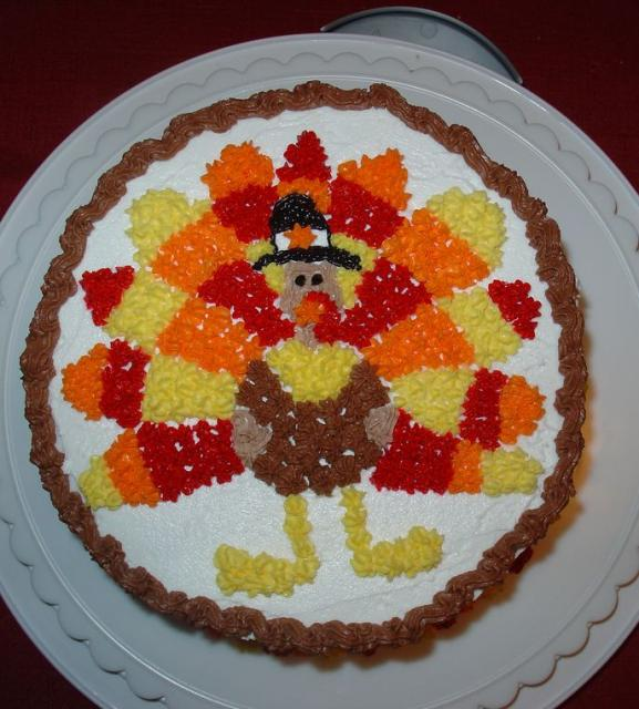 Thanksgiving Cake turkey.JPG