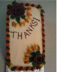 Thanksgiving Cake with chocolate roses.JPG