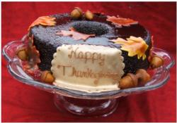 Thanksgiving Carob Cake photo.JPG