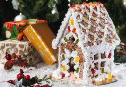 Christmas Cake Pictures Gallery