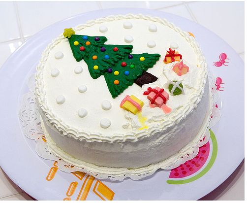 Images Of Christmas Cake DecoJPG