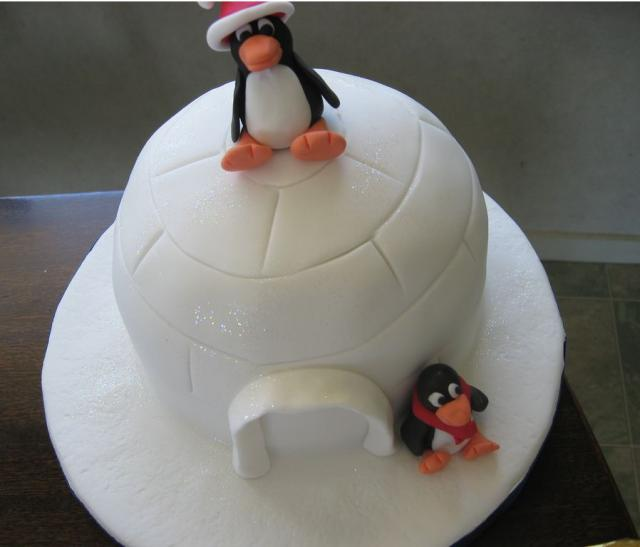 Penguin Christmas Cake Images : Christmas Penguins Auto Design Tech
