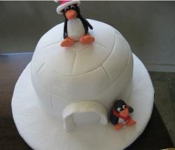 Penguin Christmas cake images.JPG