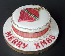Photo of Christmas cake plate.JPG
