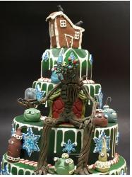 Very unique Christmas cake image.JPG