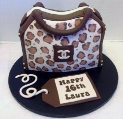 Coach Handbag Sweet 16 Birthday Cake.JPG