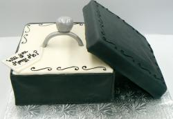 Engagment ring proposal cake.JPG