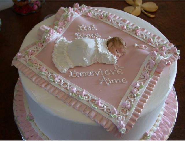 Cake Ideas For Baby Baptism : Sleepy baby christening cake.JPG (4 comments) Hi-Res 1080p HD