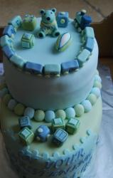 Trendy Christening Cake photo.JPG