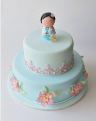 China Doll Christening Cake in blue.JPG