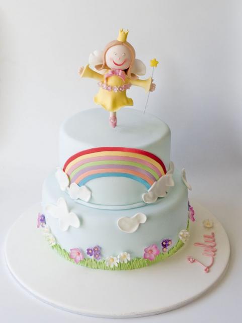 Ideas For A Christening Cake Decoration : Fairy christening cake ideas.JPG Hi-Res 720p HD