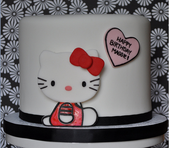 White chic Hello Kitty birthday cake photos.PNG