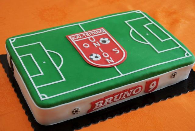 Soccer Football Field Cake For 9 Year Old BoyJPG