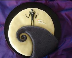 The Nightmare Before Christmas cake photo.JPG