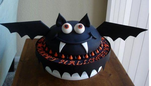Big Halloween Bat Cake Photo Jpg 1 Comment