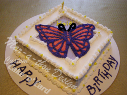 Butterfly with Watermark