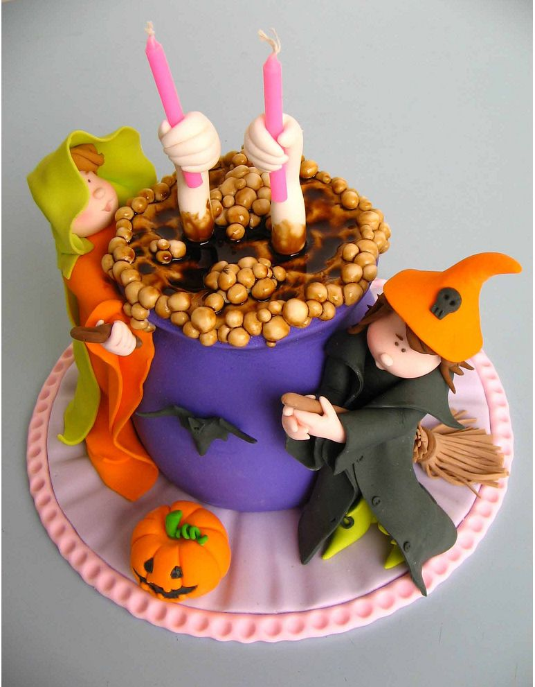 Cake Decorating Party Ideas : Birthday and Party Cakes: Halloween Cake Decorating 2010