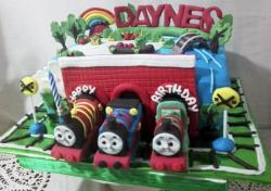 Thomas and Friends Cakes Pictures