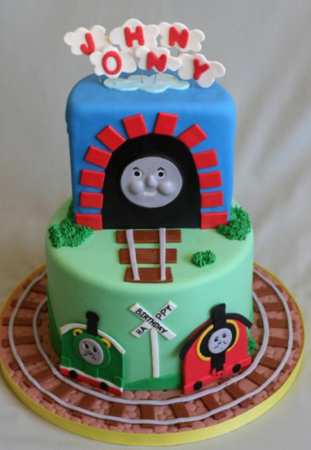 Thomas Birthday Cake Design : Thomas the train birthday ideas.PNG Cake