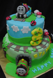 Thomas and friends cake for birthday.PNG