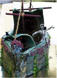 Halloween pirate ship cake.JPG