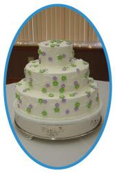 cut decor wedding cake