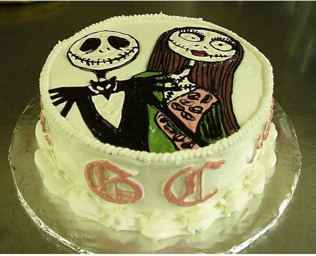 Pictures of Halloween cake.JPG