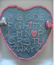 kids valentines cake in heart shape.JPG