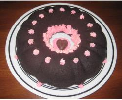 photo of chocolate valentines day cake.JPG
