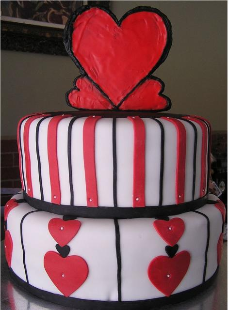 Go Back > Gallery For > Valentine Birthday Cake