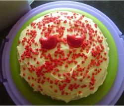 Picture of valentine day cake.JPG