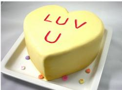 Pictures of Valentines Day Lemon Cake.JPG