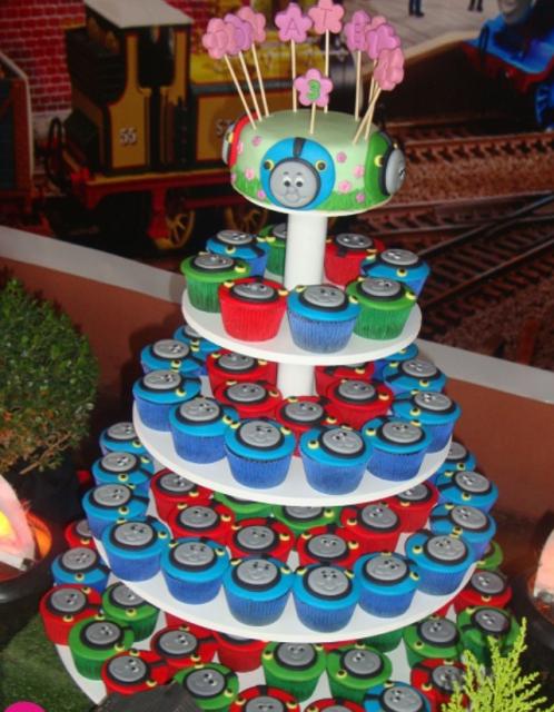 Thomas And Friends Birthday Cupcakes Png Hi Res 720p Hd