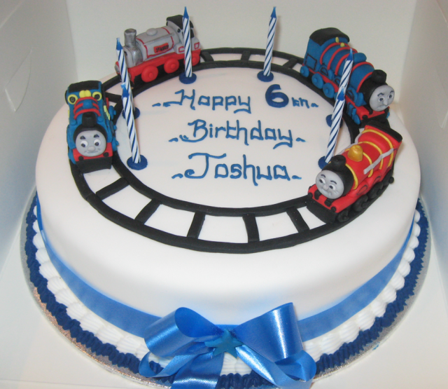 Boy Thomas And Friends Birthday Cakes For Kids Png Hi Res