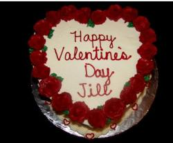 Very pretty and romantic valentines day cake.JPG